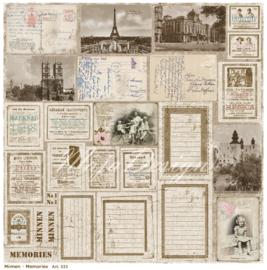 533 Scrappapier dubbelzijdig - Vintage Summer - Maja Design