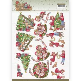 CD11730 3D vel A4  - The Heart of Christmas - Yvonne Creations