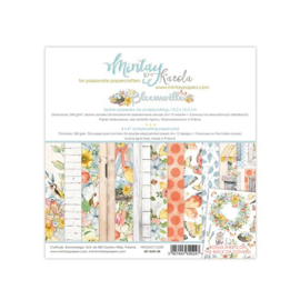 Paperpad 15.2 x 15.2cm - Bloom Ville - Mintay