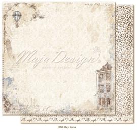 1098 Scrappapier dubbelzijdig - Miles Apart - Maja Design