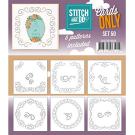 Stitch an Do Cards Only nr. 50