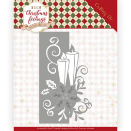 PM10159 Snij- en embosmal - Warm Christmas Feelings - Marieke Design
