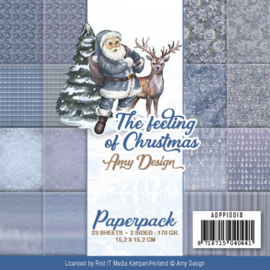 ADPP10018 Paperpad - The Feelings of Christmas - Amy Design