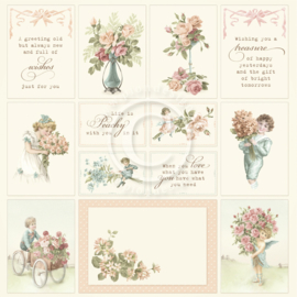PD1637 Scrappapier - Life is Peachy - Pion Design
