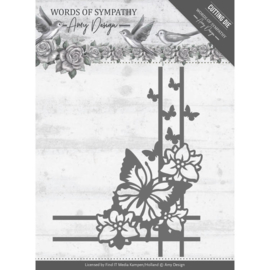 ADD10156 Snij- en embosmal - Words of Sympathy - Amy Design