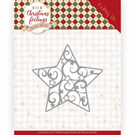 PM10163 Snij- en embosmal - Warm Christmas Feelings - Marieke Design