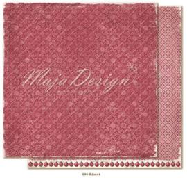 CHRS994 Scrappapier dubbelzijdig - Christmas Seasons - Maja Design