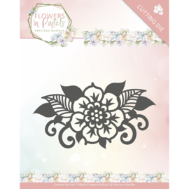 PM10137 Snij- en embosmal - Flowers in Pastel - Marieke Design