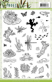 ADCS10072 Clearstempel - Friendly Frogs - Amy Design