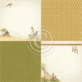 PD9701 Scrappapier - Summer Falls into Autumn - Pion Design