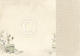 PD5106 Scrappapier Dubbelzijdig - Days of Winter - Pion Design