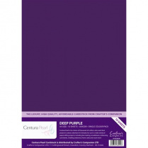 Deep Purple - Glanskarton A4 310 grams - 10 vel - Centura Pearl