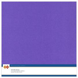 18 Violet - Linnen Karton 30,5 x 30,5cm - 10 stuks - 200 grams - Card Deco - PAKKETPOST!!