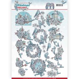 CD11134 Knipvel A4  - Christmas Dreams - Yvonne Creations