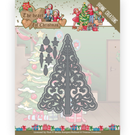 YCD10255 Snij- en embosmal  - The Heart of Christmas - Yvonne Creations
