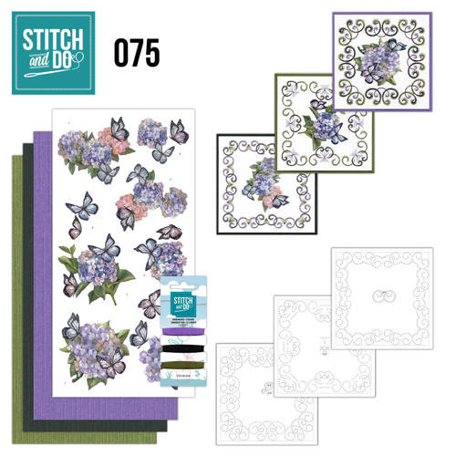 Stitch and Do nr. 75 - Vlinders