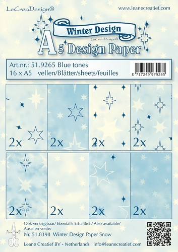51.9265 A5 paperpad - Leane Creatief