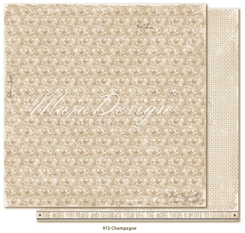 972 Scrappapier dubbelzijdig - Celebration - Maja Design