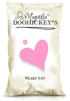 Doohickey Heart Tag  - Collectie 2010 - Magnolia