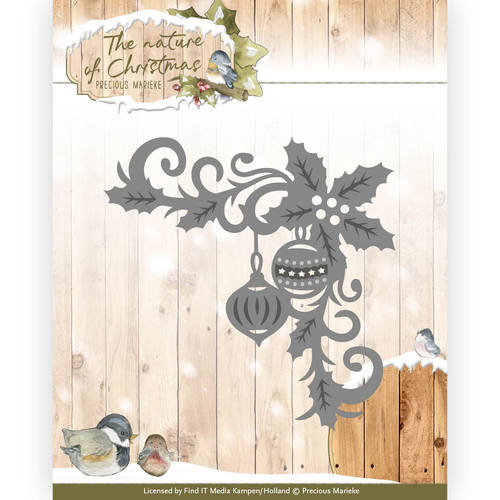 PM10100 Snij- en embosmal - The Nature Christmas - Marieke Design