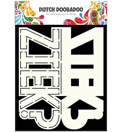 470.713.641 Dutch Card Art A5 - Ziek - Dutch Doobadoo