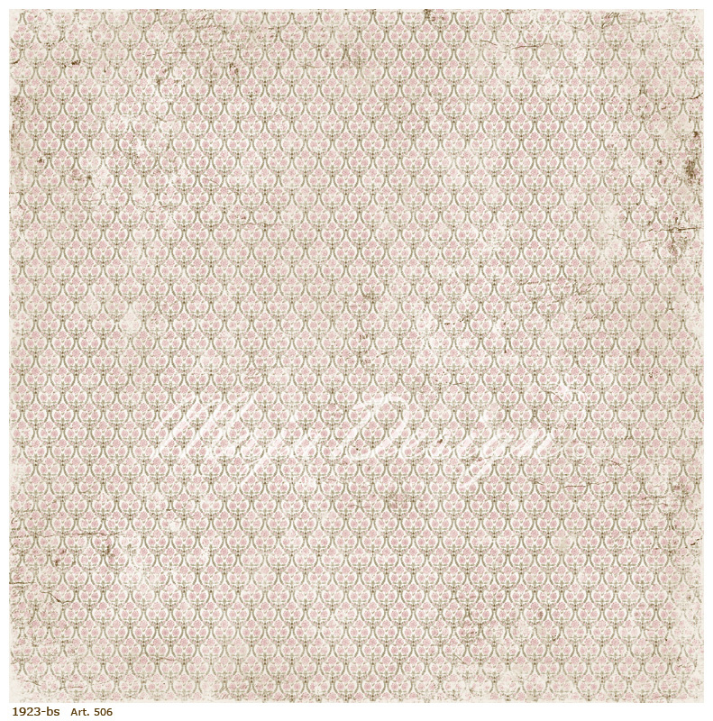 506 Scrappapier dubbelzijdig - Vintage Summer - Maja Design