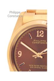 "Philippe Constance ""plain brown''"