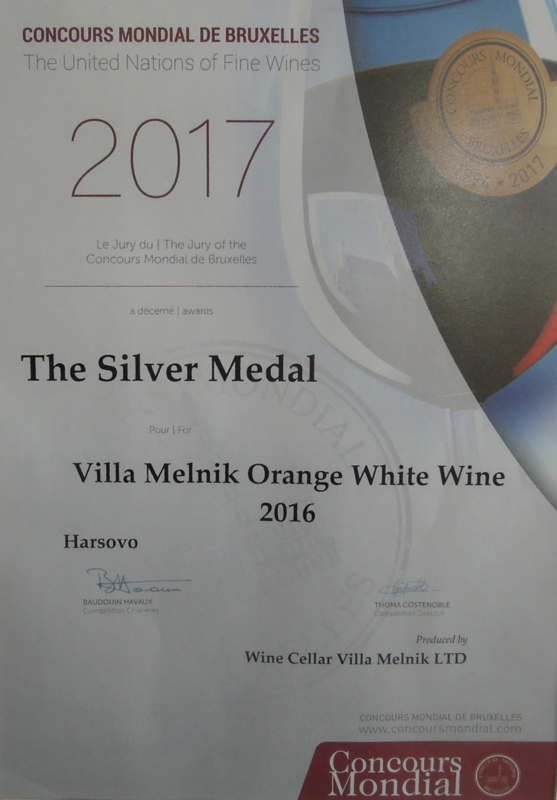 Villa Melnik | Orange Wine