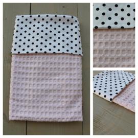 Dekentje - Soft Pink / Dots