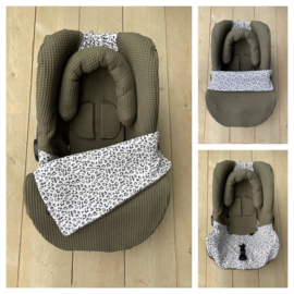 Maxi Cosi set - Army / Leopard - Universeel