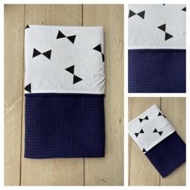 Dekentje - Jeans Blauw / Big Triangel