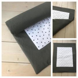 Boxkleed - Army  / Dots