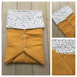 Multi deken - Oker geel / Triangel