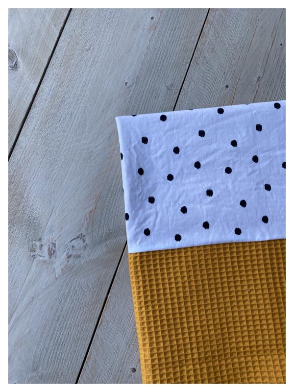 Lakentje - Oker / Dots