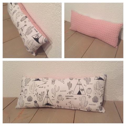 Sierkussen Soft Pink / Tipi Wild