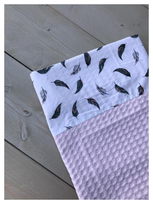 Lakentje - Soft Pink / Veren