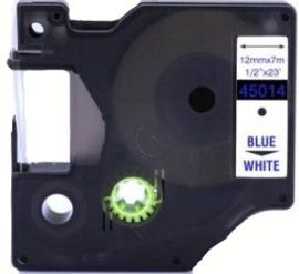 Huismerk 45014 Lettertape (Compatible met Dymo)