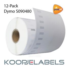 12 rollen PostNL Dymo S0904980 4XL compatible labels