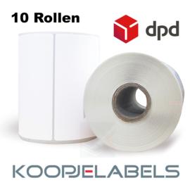 DPD Zebra compatible verzendetiketten 102 x 210 (10 pack)