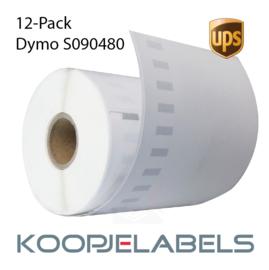 12 rollen UPS Dymo S0904980 4XL compatible labels