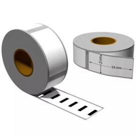 Dymo 11352 / S0722520 compatible retour adres label, 54 x 25mm, 500 labels per rol