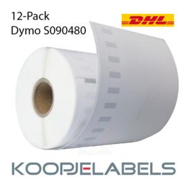 12 rollen DHL Dymo S0904980 4XL compatible labels