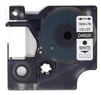 Huismerk 45020 Lettertape (Compatible met Dymo)