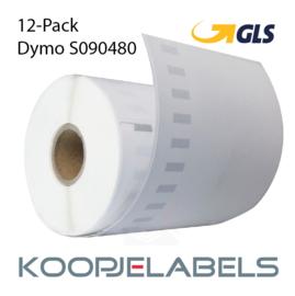 12 rollen GLS Dymo S0904980 4XL compatible labels