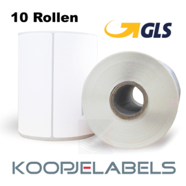 GLS Zebra compatible verzendetiketten 102 x 210 (10 pack)