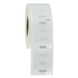 Dymo 11353 / S0722530 compatible multifunctionele labels, 25 x 13mm, 1000 labels per rol