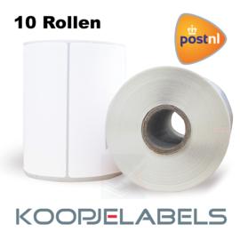 PostNL Zebra compatible verzendetiketten 102 x 210 (10 pack)