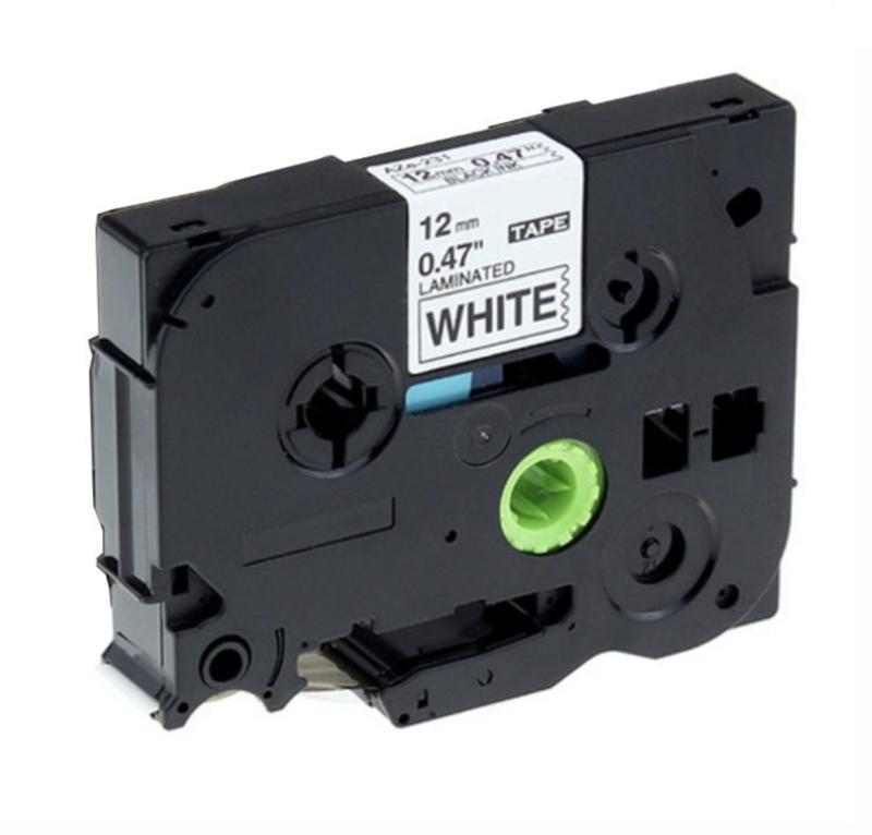Brother P-Touch TZe-231 tape zwart op wit (huismerk)