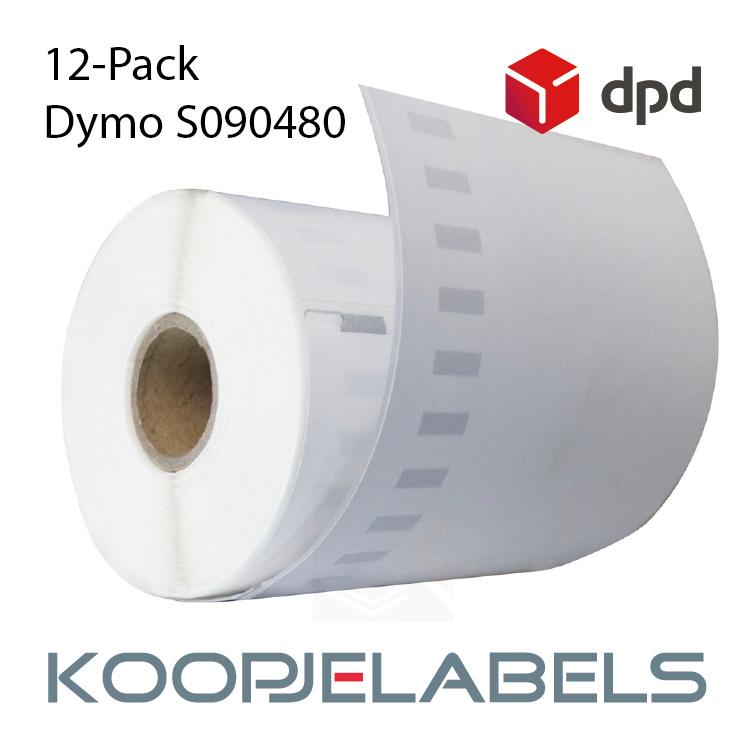 12 rollen DPD Dymo S0904980 4XL compatible labels