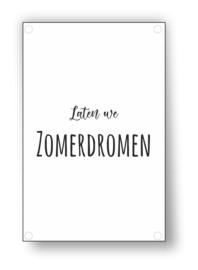 Tuin Poster | zomerdromen|  50x70 cm